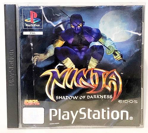 Ninja Shadow Of Darkness PlayStation Game U.K. (PAL)