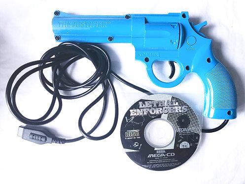 Lethal Enforcers Mega CD And Gun (Pal UK)