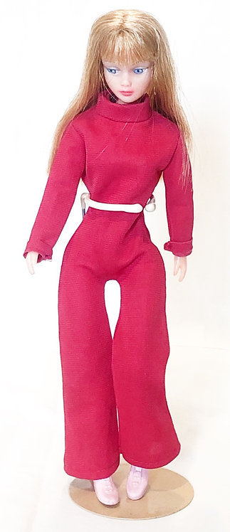 Action Girl Pink Jump Suit Palitoy 1971