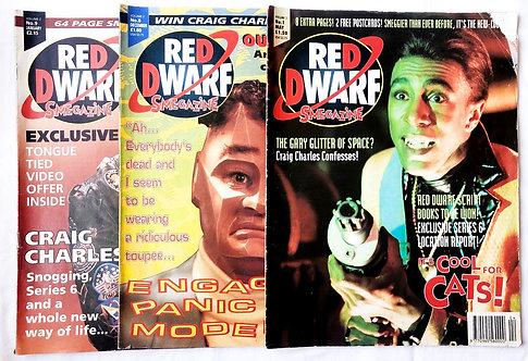 Red Dwarf Smegazine x 3 (UK)