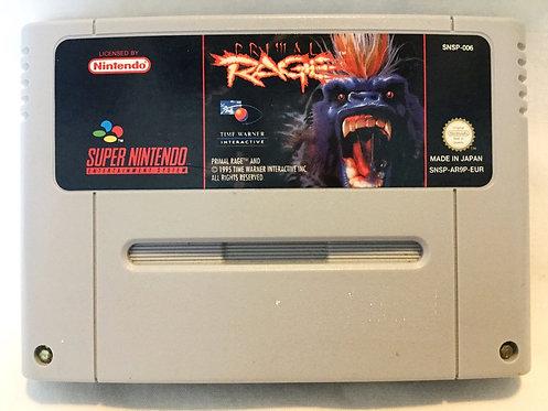 Primal Rage Nintendo Cartridge Only SNES UK PAL