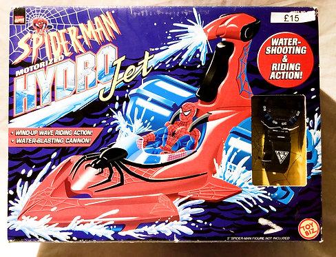 Spider-Man Motorized Hydro Jet Toy Biz 1998