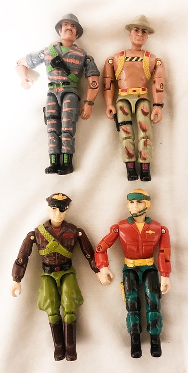 The Corps Figure Set Lanard 1986