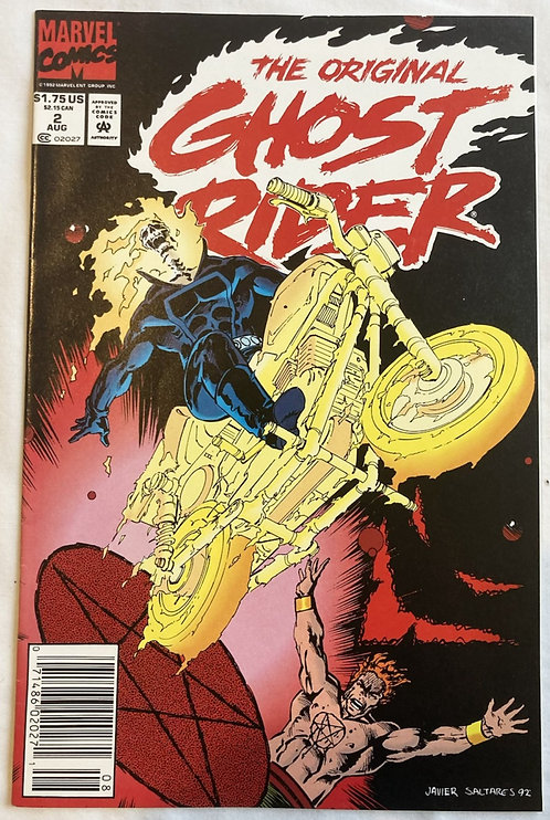 Marvel The Original Ghost Rider No 2 August 1992