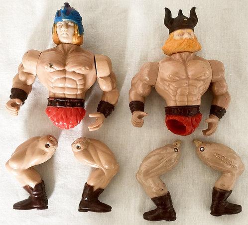 Galaxy Warriors Spares Figure Set Gungold 1987