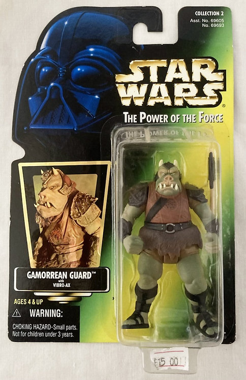 Star Wars The Power Force Gamorrean Guard Kenner 1997