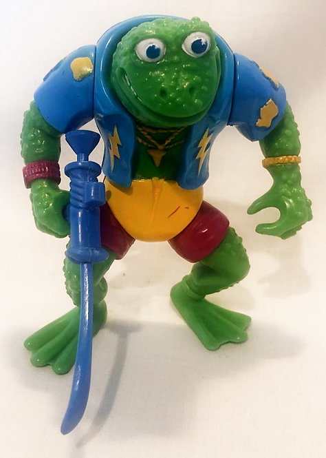 Teenage Mutant Hero Turtles Genghis Frog Playmate 1989