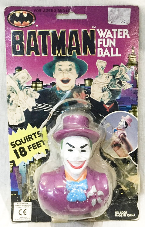 Batman Joker Water Fun Ball Kidworks 1989