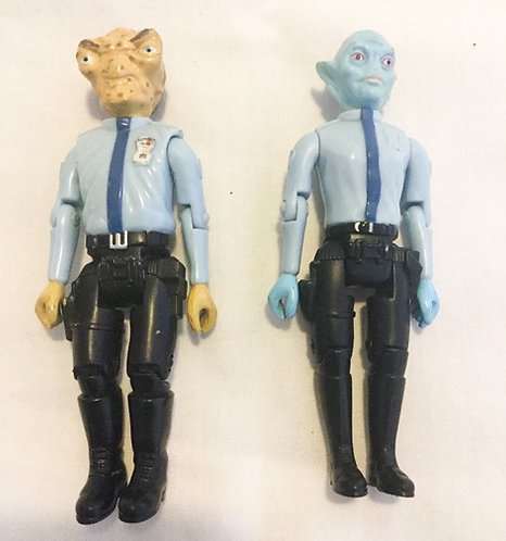 Space Precinct Captain Podly And Officer Took