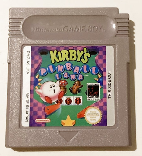 Nintendo Game Boy Kirby's Pinball Land (PAL)