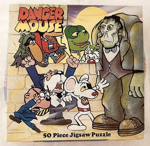 Danger Mouse 50 Piece Jigsaw Puzzle 1981