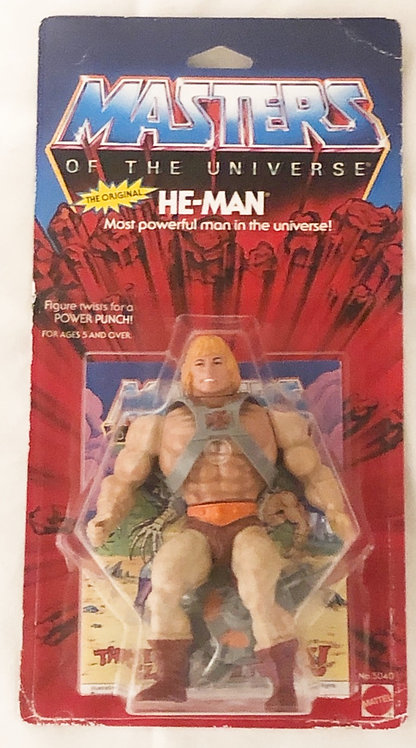 He-Man And The Masters Of The Universe He-Man Malaysia 1982