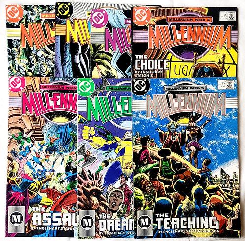 Millennium Comic #1 - #7 Comic Set DC 1987