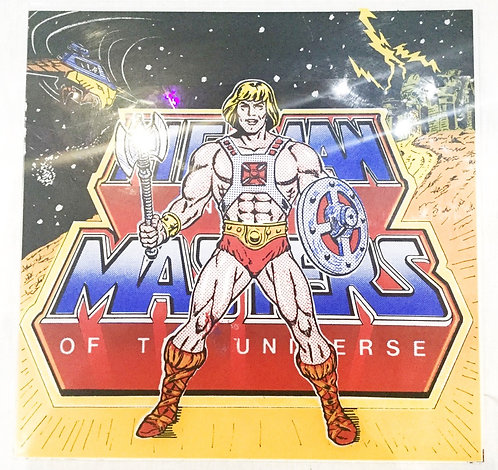 He-ManAnd The Masters Of The Universe Vintage Glass 1984