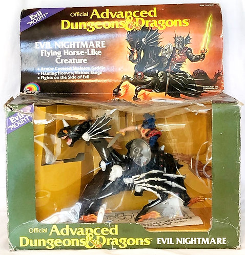 Advanced Dungeons & Dragons Evil Nightmare LJN 1983