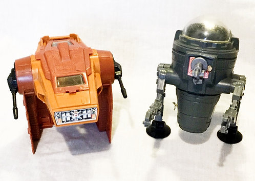 Vintage Star Wars Mini Rig AST-5 And Cap-2 Kenner 1982/1983