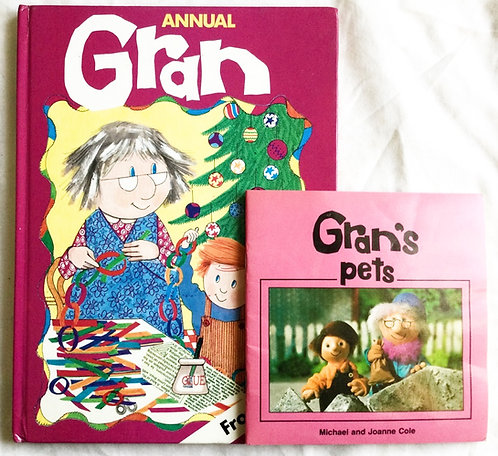 Gran Annual And Gran's Pet Book BBC 1984