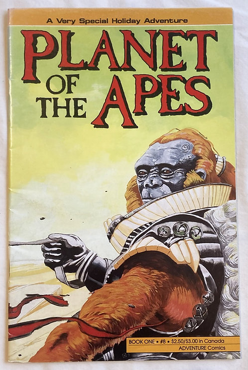 Planet Of The Apes Special Holiday Adventure No 8 Adventure Comics 1990