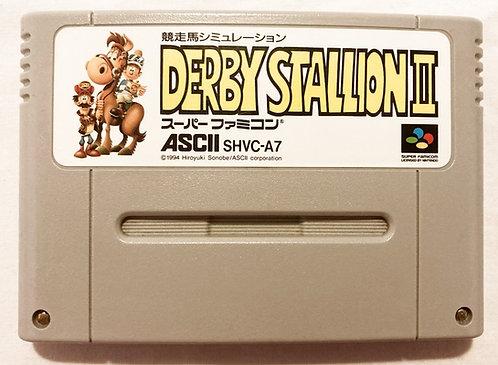 Nintendo Super Famicom Derby Stallion Japan 1996