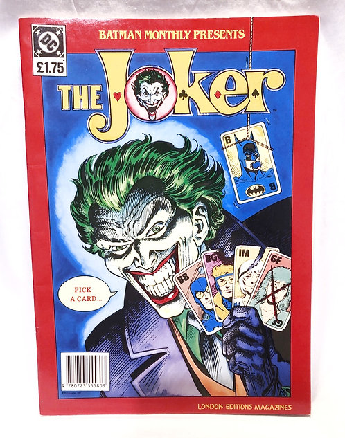 Batman Weekly Presents The Joker Comic