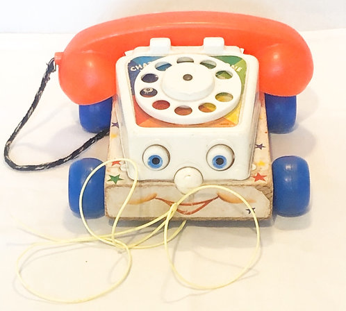 Fisher Price Chatter Phone 1961