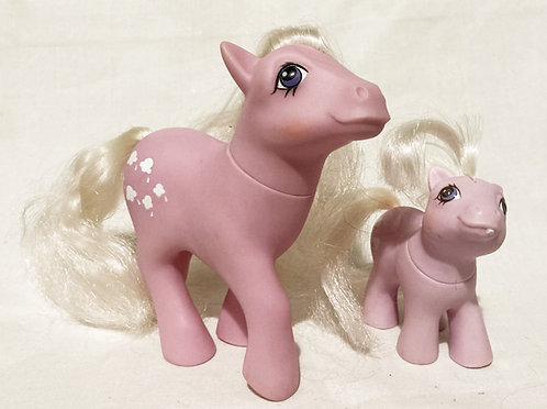 My Little Pony Lickety-Split And Baby 1984