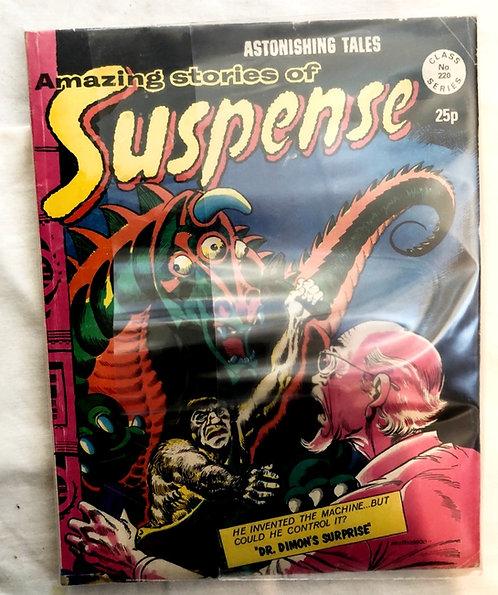 Astonishing Tales Amazing Stories Of Suspense #105 #187 Set
