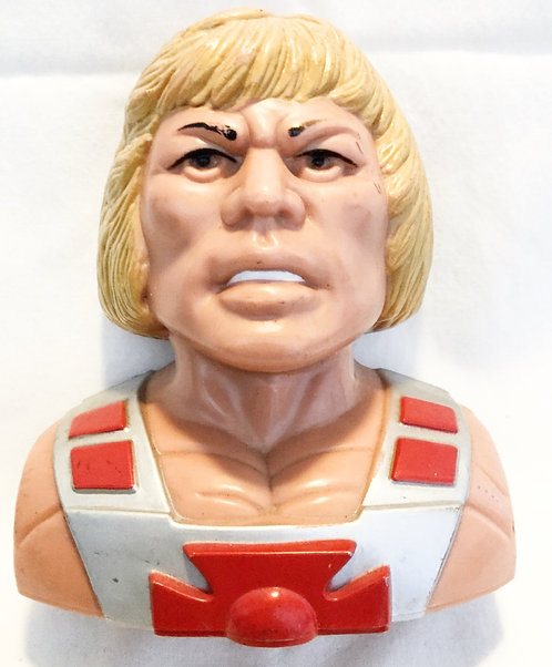 He-Man And The Masters Of The Universe He-Man Bust Money Box Hong Kong 1984