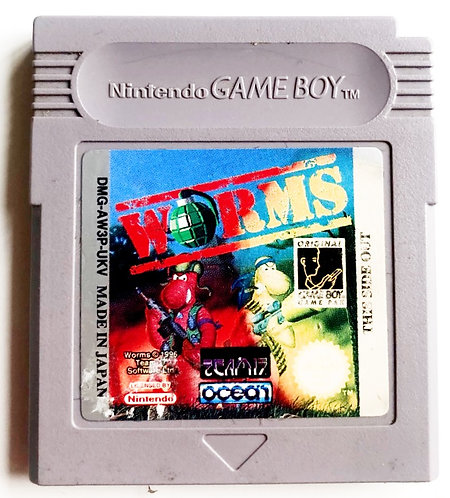 Nintendo Gameboy Worms