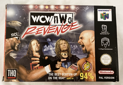 Nintendo N64 WCW NWO Revenge  (Pal)