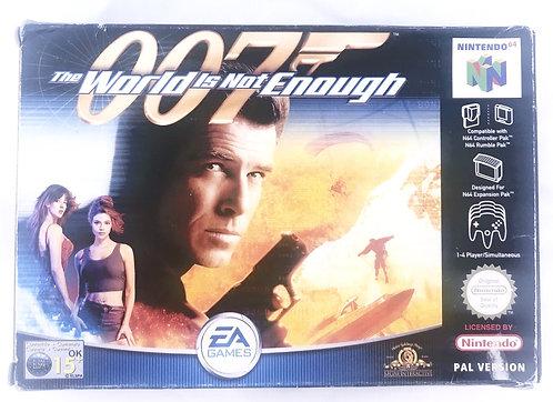 James Bond 007 - The World Is Not Enough Nintendo 64 U.K. (PAL)