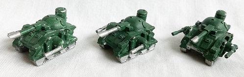 Epic 40K Space Marine Predator Tanks Set Workshop 1991