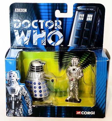 Doctor Who Dalek And Cyberman Corgi