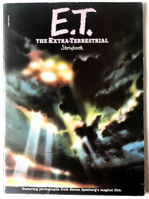 E.T, The Extra Terrestrial Storybook 1982