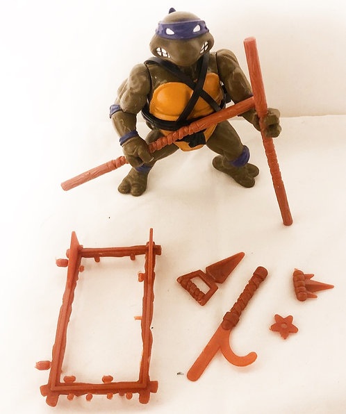 Teenage Mutant Hero Turtles Donatello Playmates 1988