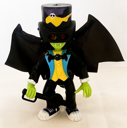 Little Dracula Drac Attack Figure Bandi 1991