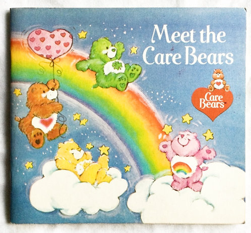Care Bear's Meet The Care Bears Book 1983
