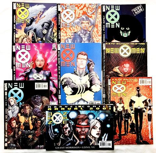 New X-Men Marvel Comic Set Annual 2001 #125 #122 #121 #120 #118 #115 #114 #130