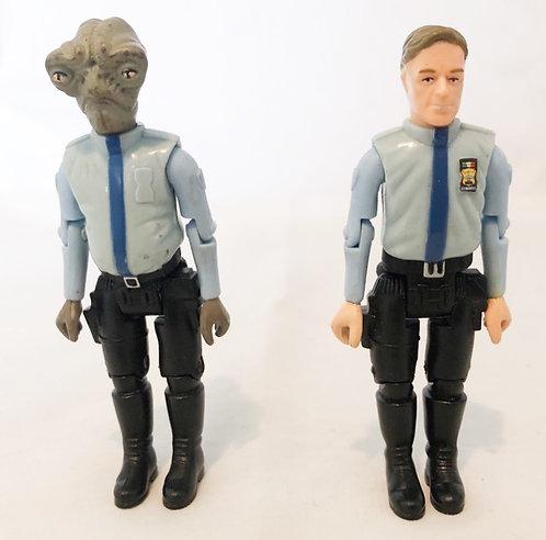 """Space Precinct 2040 Figure Set 3.75"""" Vivid 1994"""
