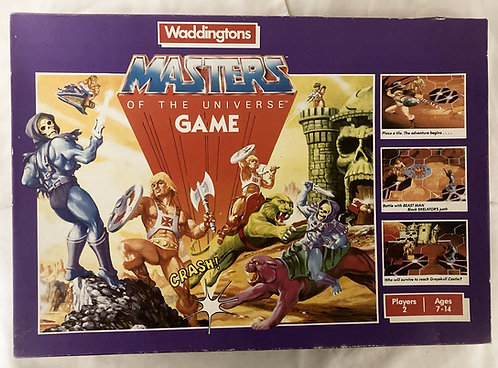 He-Man Masters Of The Universe Game Waddingtons 1983