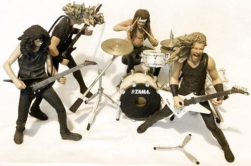 McFarlene Toys Metallica Harvesters Of Sorrow Stage Figures Set 2001