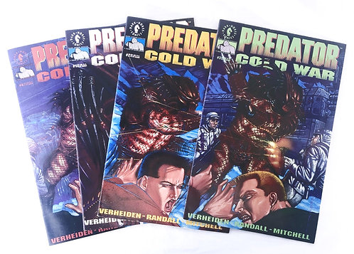 Dark Horse Predator Cold War Comics x4