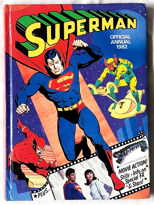 Superman Official Annual 1982