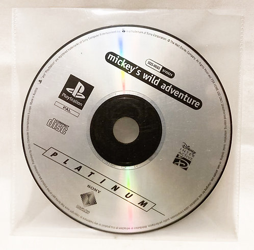 Sony Playstation Mickey's Wild Adventure Disc Only PAL