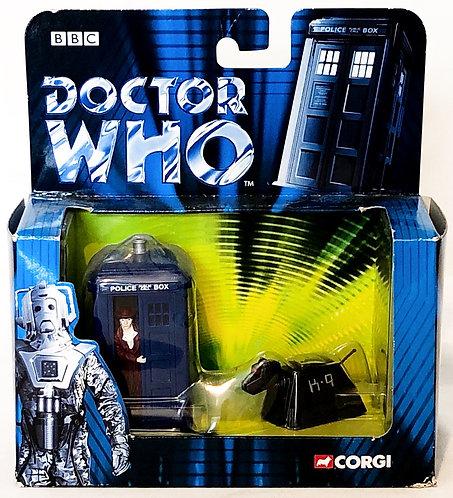 Doctor Who  Tardis and K9 Corgi