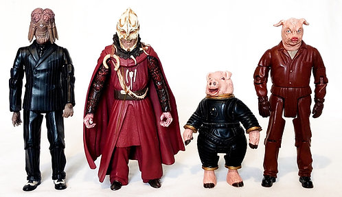 Doctor Who Figure Set