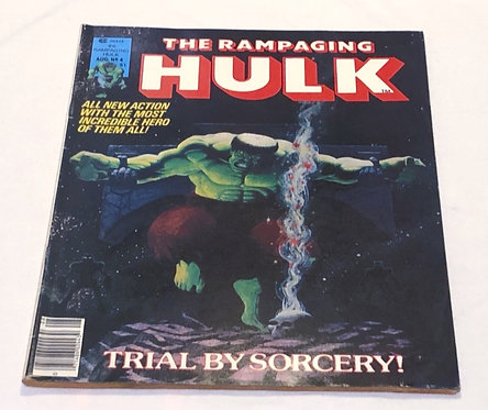 The Rampaging Hulk Comic #04 1977