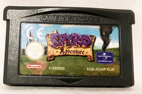 Spyro Adventure Nintendo Game Boy Advanced