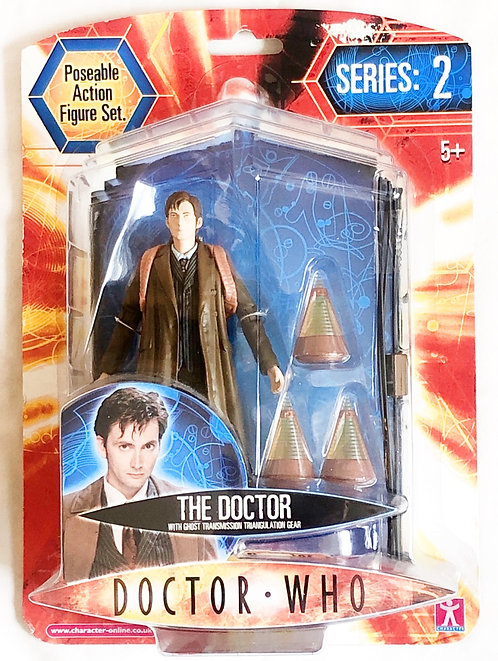 Doctor Who The Tenth Doctor With Ghost Transmission Triangulation Gear