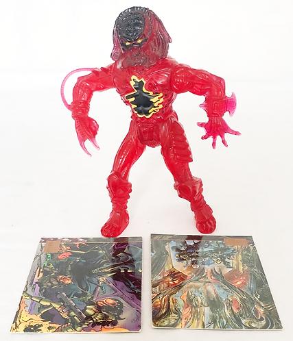 Predator Lava Planet Predator And Cards Kenner 1993